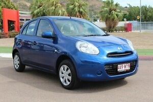 2014 Nissan Micra K13 MY13 ST Blue 5 Speed Manual Hatchback Townsville Townsville City Preview