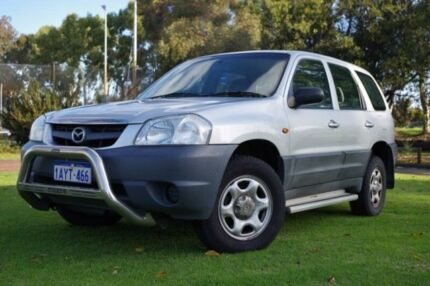 2001 Mazda Tribute Limited Silver 5 Speed Manual Wagon Leederville Vincent Area Preview
