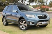 2012 Hyundai Santa Fe CM MY12 Trail Blue 6 Speed Sports Automatic Wagon Wangara Wanneroo Area Preview
