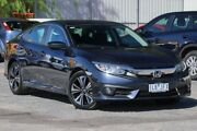 2017 Honda Civic 10th Gen MY17 VTi-L Blue 1 Speed Constant Variable Sedan Ferntree Gully Knox Area Preview