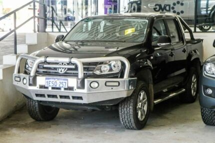 2014 Volkswagen Amarok 2H MY14 TDI420 4Motion Perm Highline Black 8 Speed Automatic Utility Myaree Melville Area Preview