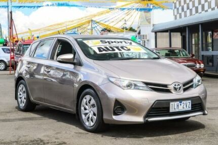 2013 Toyota Corolla ZRE182R Ascent S-CVT Bronze Metallic 7 Speed Constant Variable Hatchback Ringwood East Maroondah Area Preview