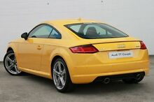 2015 Audi TT FV MY16 S S tronic quattro Vegas Yellow 6 Speed Sports Automatic Dual Clutch Coupe Currimundi Caloundra Area Preview