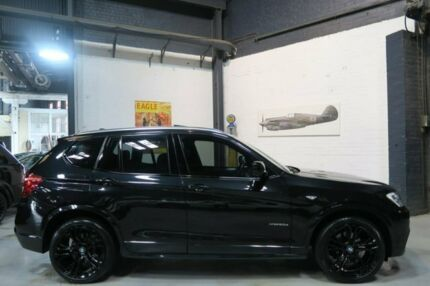 2012 BMW X3 F25 MY0412 xDrive20d Steptronic Black 8 Speed Automatic Wagon Port Melbourne Port Phillip Preview