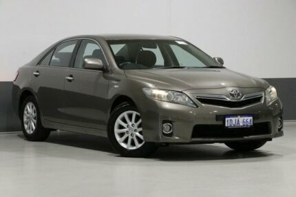 2010 Toyota Camry AHV40R Hybrid Bronze Continuous Variable Sedan Bentley Canning Area Preview
