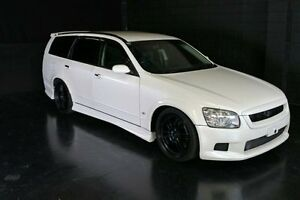 2003 Nissan Stagea M35 White Automatic Wagon Daisy Hill Logan Area Preview