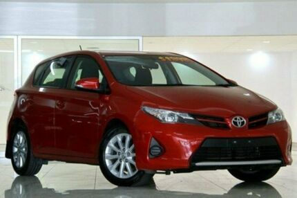 2013 Toyota Corolla  Red Constant Variable Hatchback Waitara Hornsby Area Preview