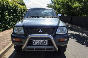 2005 Mitsubishi Triton MK MY05.5 GLX-R Double Cab Grey 5 Speed Manual Utility Hove Holdfast Bay Preview