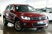 2014 Volkswagen Tiguan  Red Sports Automatic Dual Clutch Wagon Frankston Frankston Area Preview