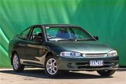 2002 Mitsubishi Lancer CE2 MY02.5 GLi Green 4 Speed Automatic Coupe Ringwood East Maroondah Area Preview