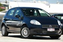 2009 Fiat Punto Dynamic Blue 6 Speed Manual Hatchback Kedron Brisbane North East Preview
