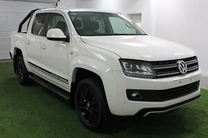 2016 Volkswagen Amarok 2H MY16 White 8 Speed Automatic Utility Hobart CBD Hobart City Preview