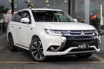 2018 Mitsubishi Outlander ZK MY18 Exceed Phev (hybrid) Starlight 1 Speed Automatic Wagon Myaree Melville Area Preview