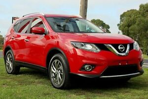 2016 Nissan X-Trail T32 Ti X-tronic 4WD Red 7 Speed Constant Variable Wagon Mornington Mornington Peninsula Preview