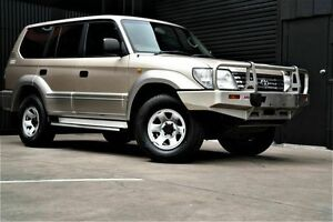 2001 Toyota Landcruiser Prado KZJ95R GXL Gold 4 Speed Automatic Wagon Underdale West Torrens Area Preview