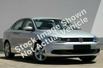 2012 Volkswagen Jetta 1B MY13 103TDI Silver 6 Speed Semi Auto Sedan Traralgon Latrobe Valley Preview