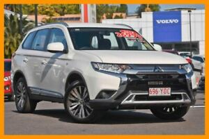 2018 Mitsubishi Outlander ZL MY19 ES 2WD White 6 Speed Constant Variable Wagon Mount Gravatt Brisbane South East Preview
