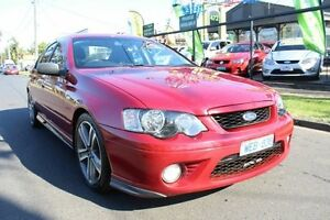 2007 Ford Falcon BF Mk II XR6 Red 6 Speed Sports Automatic Sedan West Footscray Maribyrnong Area Preview