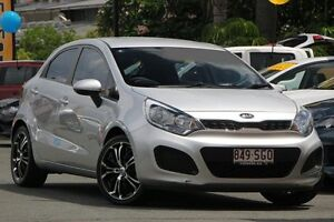 2012 Kia Rio UB MY12 S Silver 6 Speed Manual Hatchback Kedron Brisbane North East Preview
