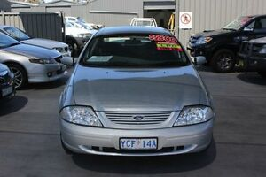 2001 Ford Falcon Auii SR Silver 4 Speed Automatic Sedan Mitchell Gungahlin Area Preview
