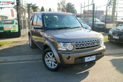 2010 Land Rover Discovery 4 MY10 2.7 TDV6 Brown 6 Speed Automatic Wagon
