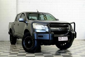 2012 Holden Colorado RG LX (4x4) Grey 6 Speed Automatic Crewcab Burleigh Heads Gold Coast South Preview