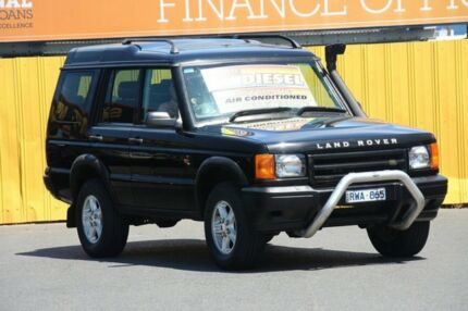 2002 Land Rover Discovery 03MY Td5 Black 4 Speed Automatic Wagon Cheltenham Kingston Area Preview