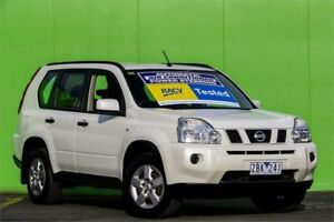 2009 Nissan X-Trail T31 MY10 ST White 1 Speed Constant Variable Wagon Ringwood East Maroondah Area Preview