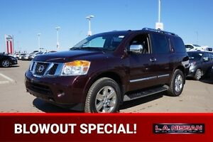 2013 Nissan Armada 4X4 PLATINUM Accident Free,  Navigation (GPS)