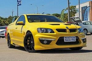 2013 Holden Special Vehicles Maloo E Series 3 MY12.5 R8 Yellow 6 Speed Manual Utility Myaree Melville Area Preview