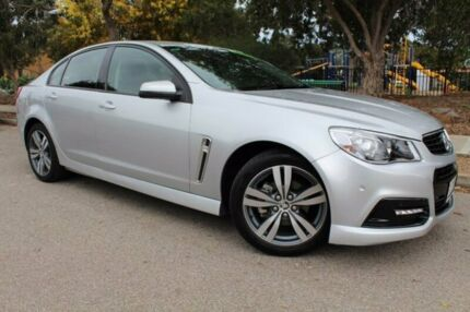 2015 Holden Commodore VF MY15 SV6 Silver 6 Speed Sports Automatic Sedan Thebarton West Torrens Area Preview