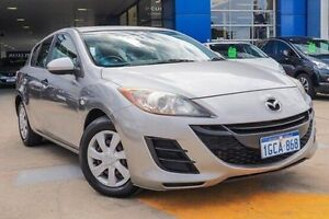 2010 Mazda 3 BL10F1 MY10 Neo Activematic Silver 5 Speed Sports Automatic Hatchback Myaree Melville Area Preview
