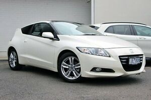 2011 Honda CRZ ZF MY12 Luxury White 7 Speed Constant Variable Coupe Doncaster Manningham Area Preview