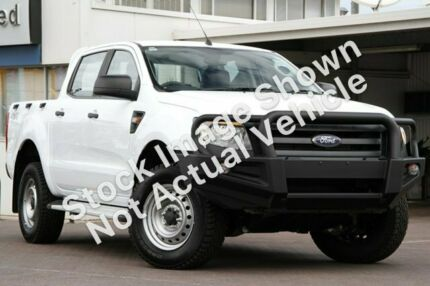 2014 Ford Ranger PX XL Double Cab Plus White 6 Speed Sports Automatic Utility Minchinbury Blacktown Area Preview