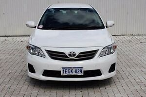 2011 Toyota Corolla White Automatic Sedan Embleton Bayswater Area Preview