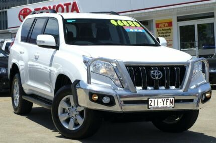 2015 Toyota Landcruiser Prado KDJ150R MY14 GXL Glacier 5 Speed Sports Automatic Wagon Woolloongabba Brisbane South West Preview