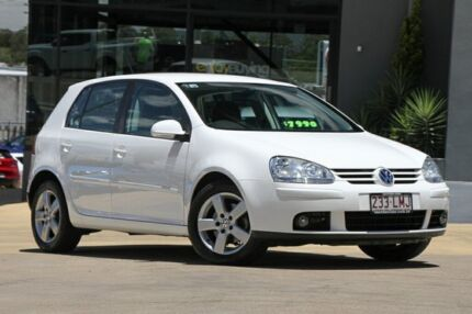 2008 Volkswagen Golf V MY08 Pacific Candy White 6 Speed Manual Hatchback Moorooka Brisbane South West Preview