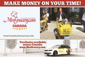 Own and Operate the MrsGrocery.com Business in Courtenay