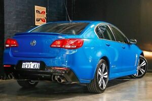 2015 Holden Commodore VF MY15 SV6 Storm Blue 6 Speed Sports Automatic Sedan Northbridge Perth City Area Preview