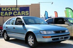 1997 Toyota Corolla AE101R CSi Seca Blue 4 Speed Automatic Liftback Greenslopes Brisbane South West Preview