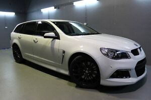 2013 Holden Special Vehicles Clubsport GEN-F MY14 R8 Tourer White 6 Speed Sports Automatic Wagon Invermay Launceston Area Preview