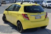 2015 Toyota Yaris NCP130R Ascent Yellow 4 Speed Automatic Hatchback Tweed Heads South Tweed Heads Area Preview