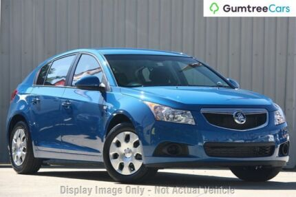 2012 Holden Cruze JH Series II MY12 CD Perfect Blue 6 Speed Sports Automatic Hatchback