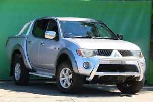 2006 Mitsubishi Triton ML MY07 GLX-R Double Cab Silver 4 Speed Automatic Utility Ringwood East Maroondah Area Preview