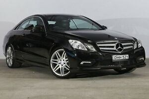 2011 Mercedes-Benz E350 C207 Avantgarde 7G-Tronic Black 7 Speed Sports Automatic Coupe Alexandria Inner Sydney Preview