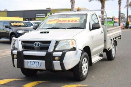 2005 Toyota Hilux KUN26R MY05 SR Champagne 4 Speed Automatic Cab Chassis Cheltenham Kingston Area Preview