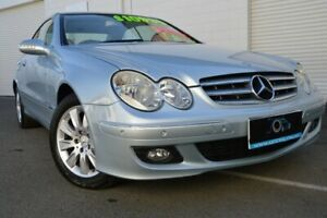 2006 Mercedes-Benz CLK200 Kompressor A209 MY07 Elegance Silver 5 Speed Automatic Coupe Ashmore Gold Coast City Preview