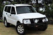 2013 Mitsubishi Pajero NW MY13 GLX White 5 Speed Manual Wagon Officer Cardinia Area Preview