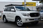 2011 Toyota Landcruiser VDJ200R MY10 Altitude White 6 Speed Sports Automatic Wagon Claremont Nedlands Area Preview