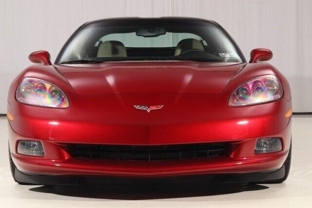 2008 Red Chevrolet Corvette  3LT   C6 Corvette Photo 7